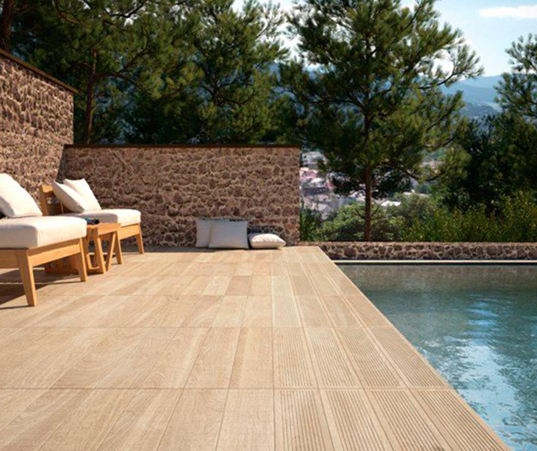 Exteriores suelos galiana pavimentos - Suelos exterior imitacion madera ...
